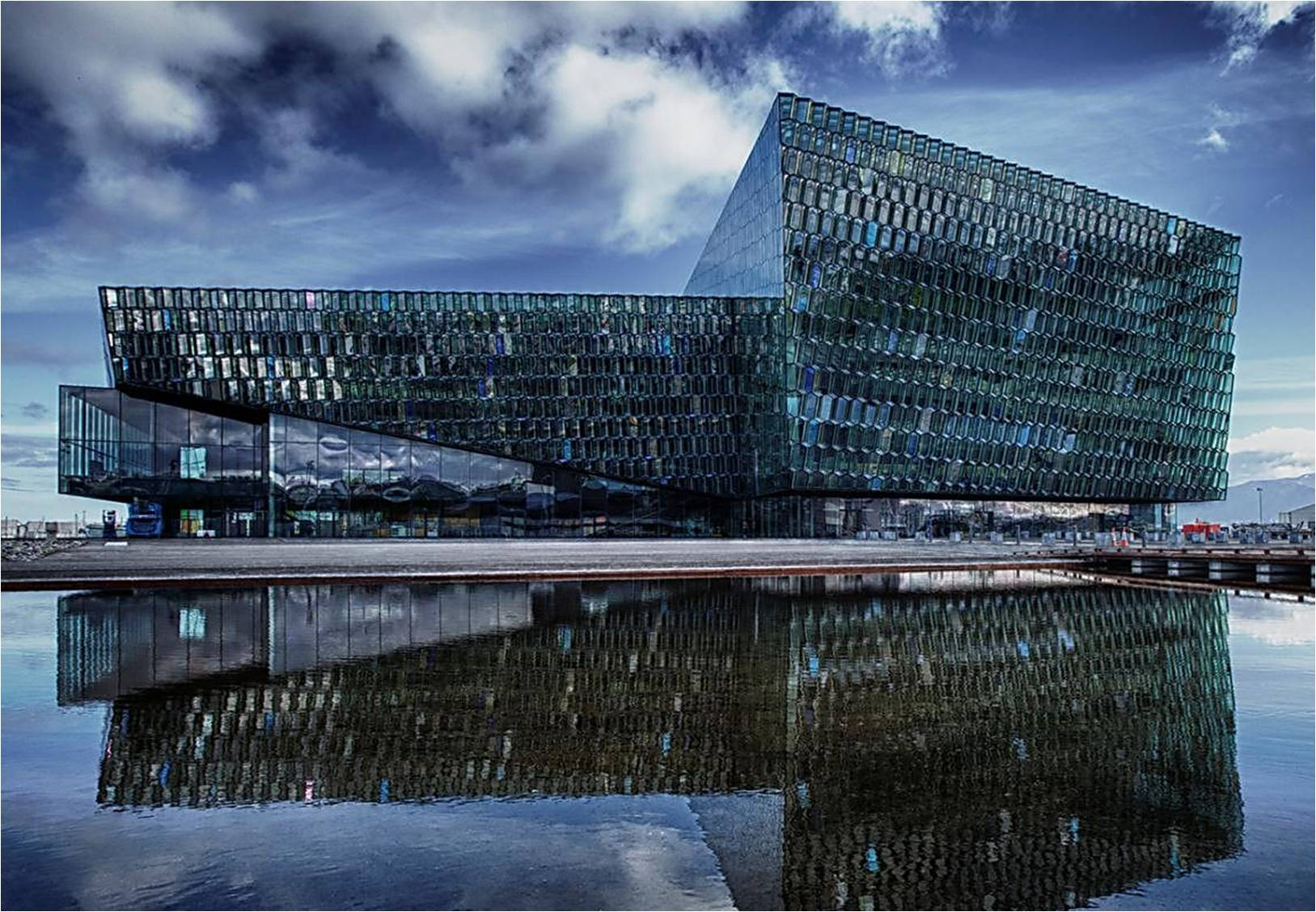 Reducing Carbon >> Harpa conference center and concert hall | First Class - Your DMC in Iceland
