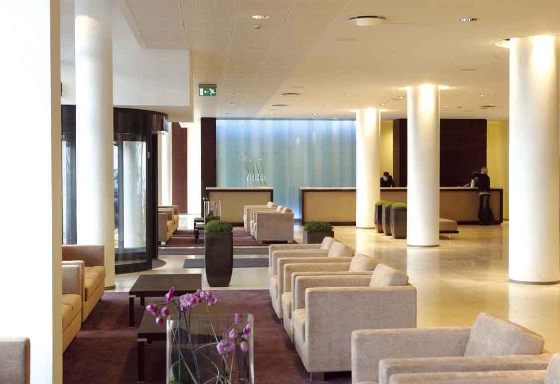 Lobby at Hilton Reykjavik Nordica